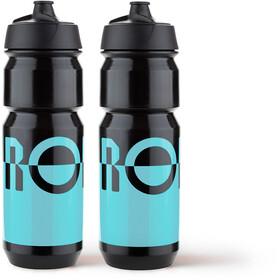 RONDO Rondo Wasserflaschen Set 750ml 2 Stück blue/black